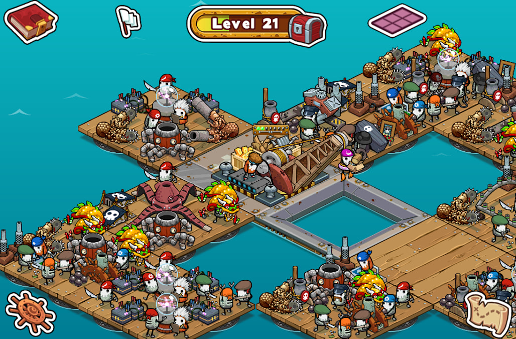 Raft Pirates Sets Sail For A New Ocean On Android Aol Games