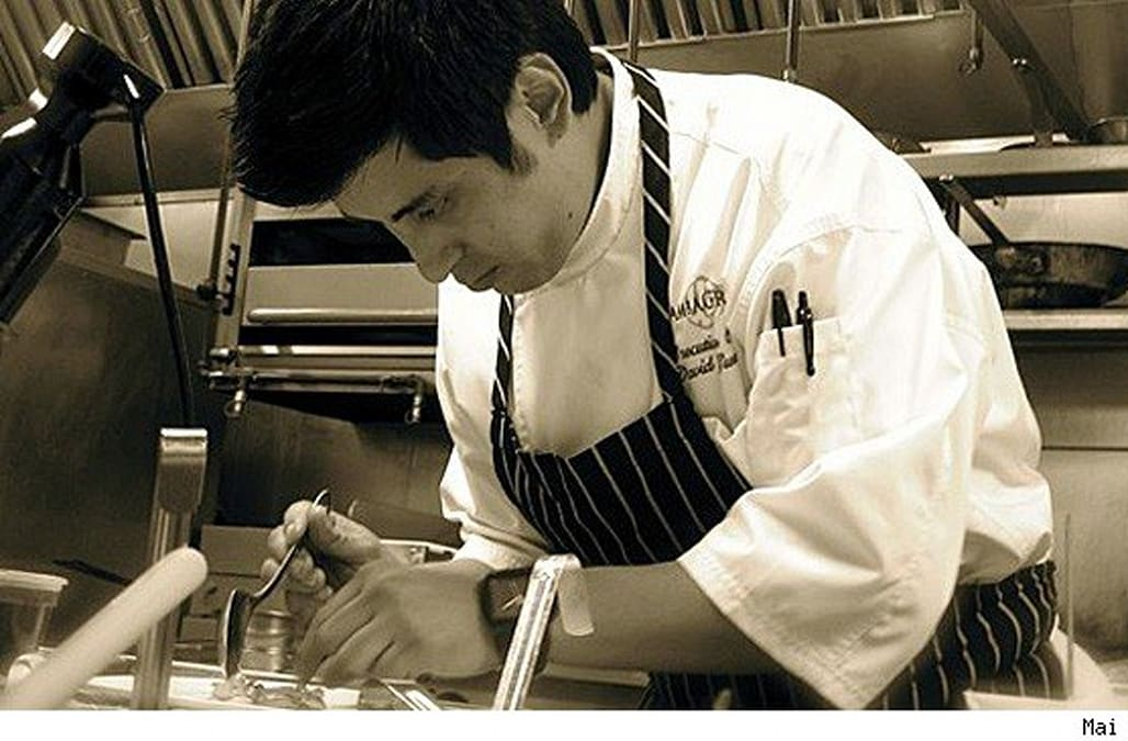 Chef David Guerrero At Work, Despite Losing Sense Of Taste