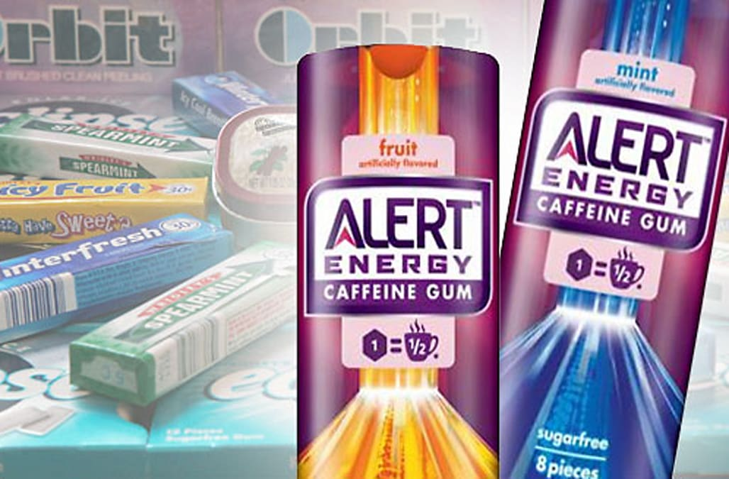 Midday Report: Wrigley to Roll Out Alert Energy Caffeine Gum