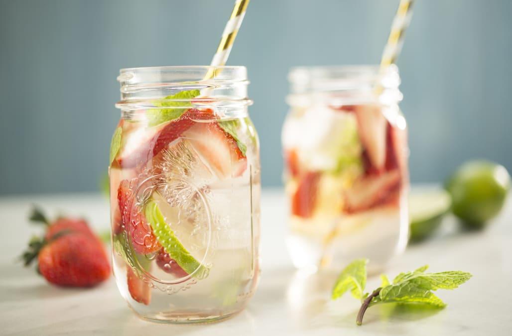 Cocktail of the Week: Strawberry Rhubarb Rosé Sangria - AOL Food