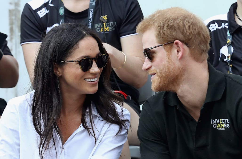 9e0b70c503 Meghan Markle glows in casual ensemble during Invictus Games appearance  with boyfriend Prince .