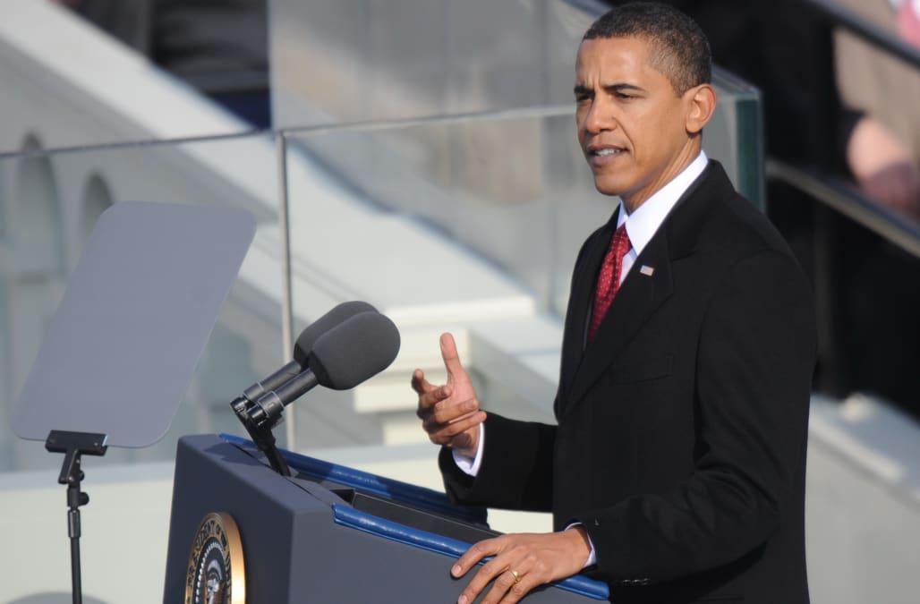 President Barack Obama's first inauguration speech: Full ...
