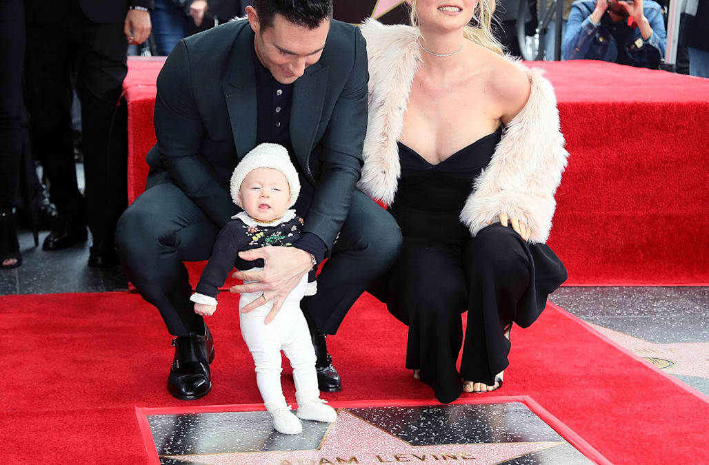 Adam Levine's daughter Dusty Rose steals the show at his ...