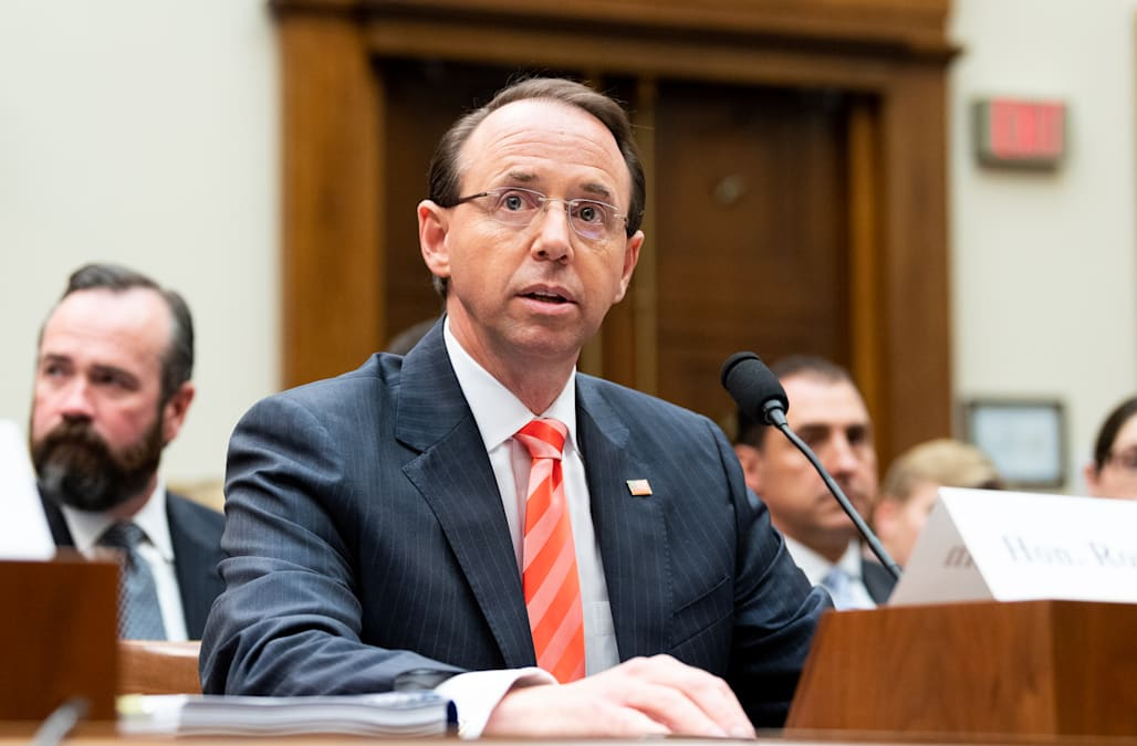 Republicans renew push to impeach Rod Rosenstein amid ...