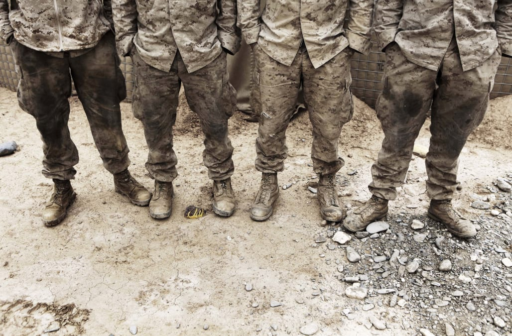 Report: US Marine Corps looking into nude photo scandal