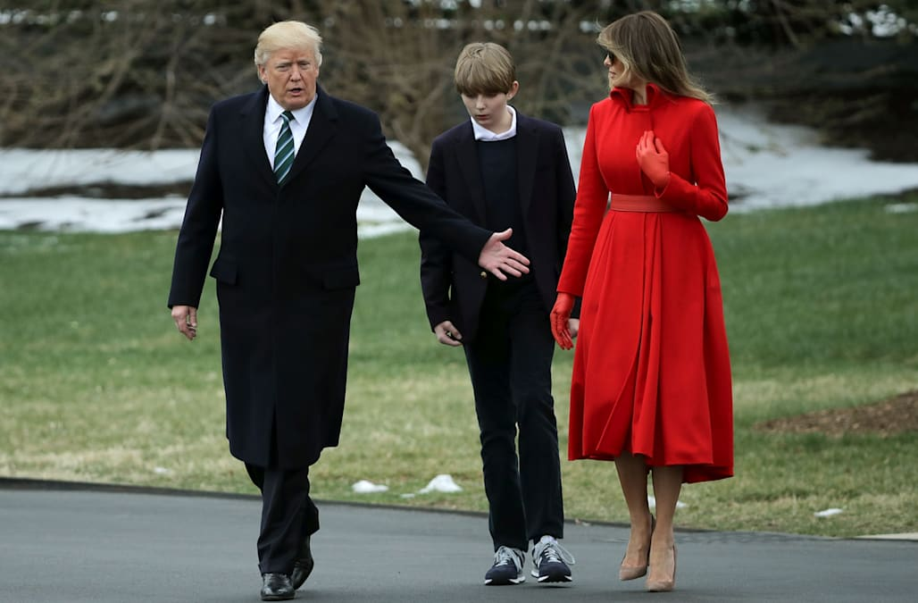 Melania Trump Barron Trump Moving To White House In June