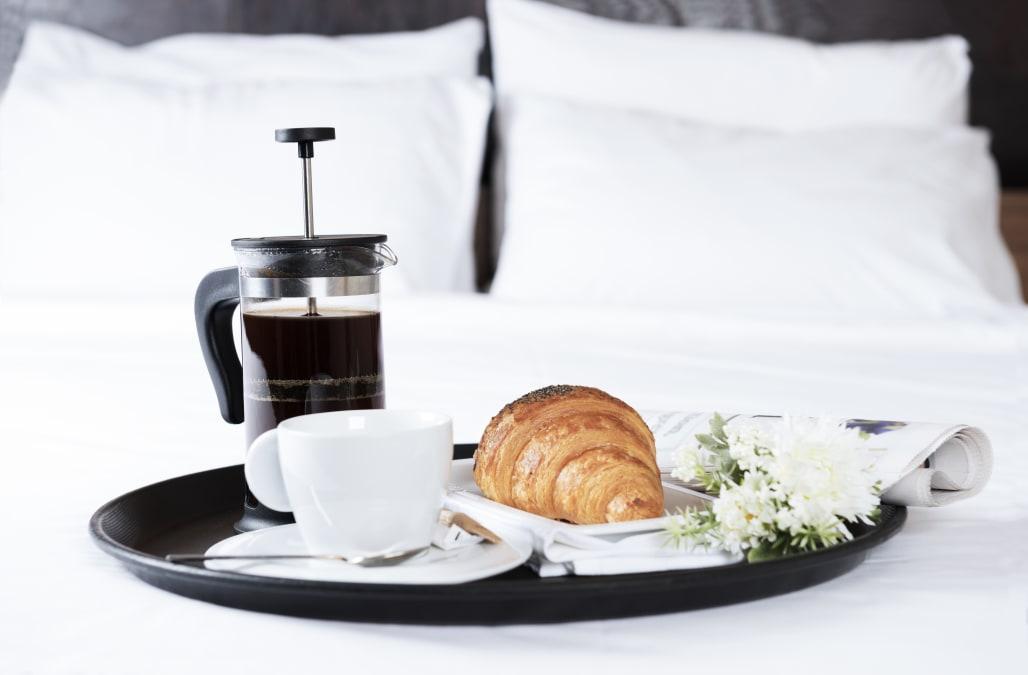 British room service