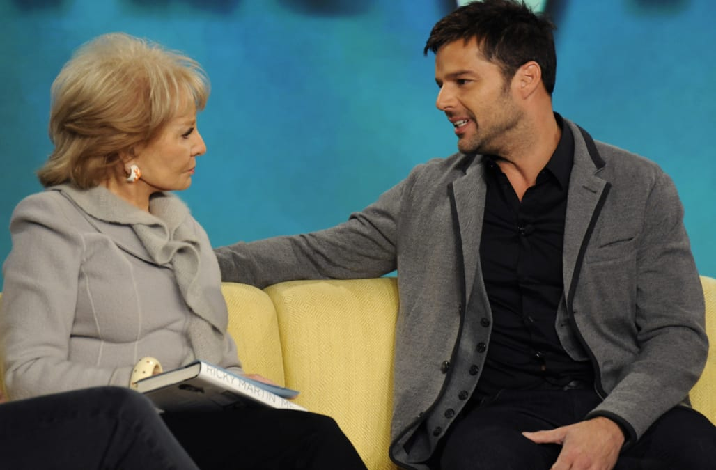 Ricky martin interview about his homosexuality