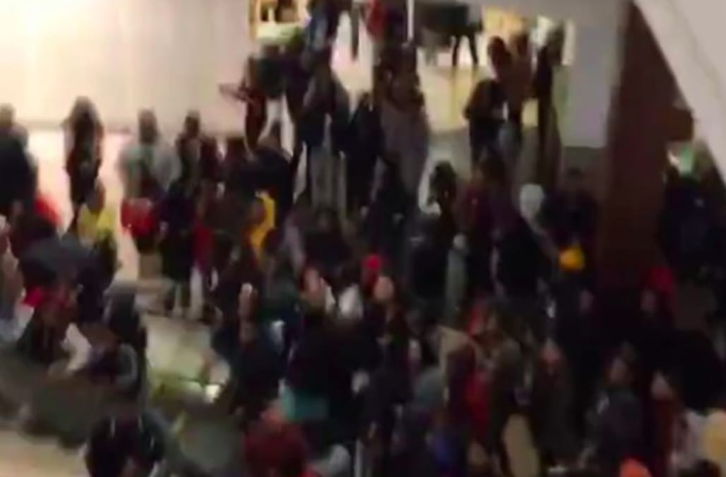 Image result for Hundreds of teenagers cause disturbance at New Jersey mall, 5 arrested