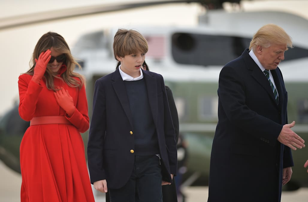 Where is Melania Trump? First lady takes Barron, Tiffany Trump bowling in  New York