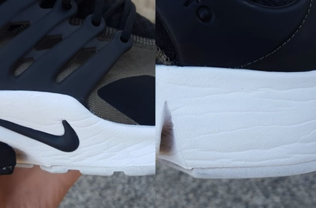 Genius Reddit user's sneaker hack goes viral -- and we're taking notes