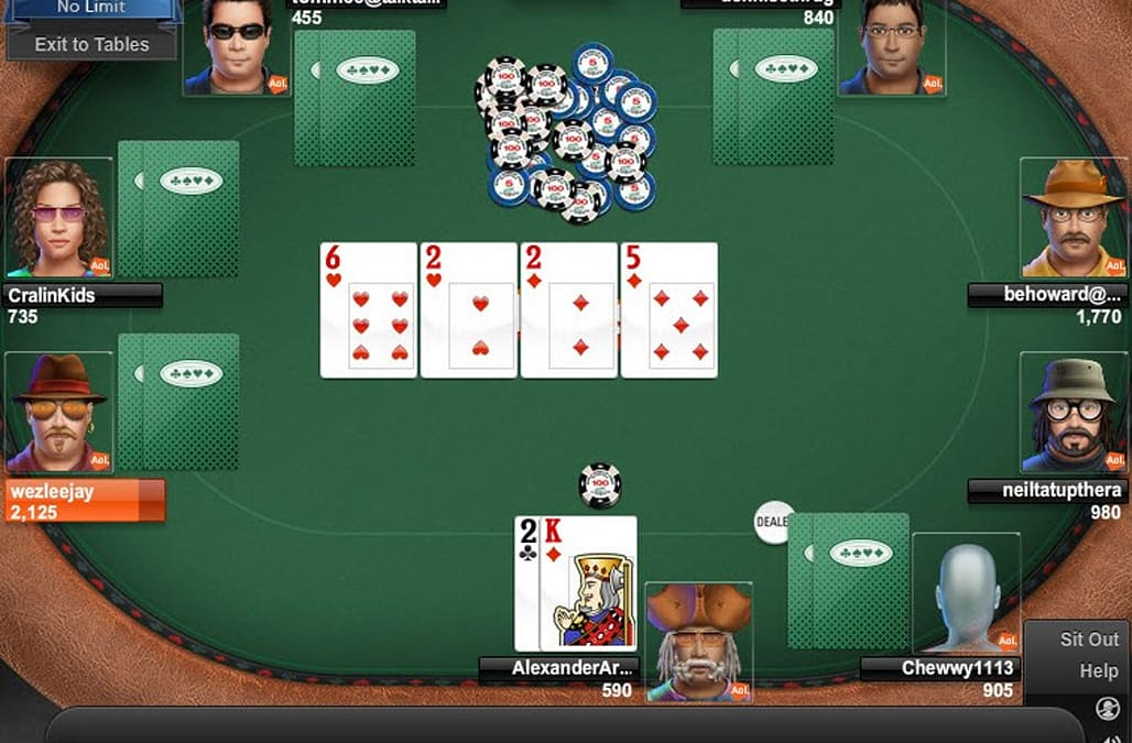 free online no limit texas holdem poker