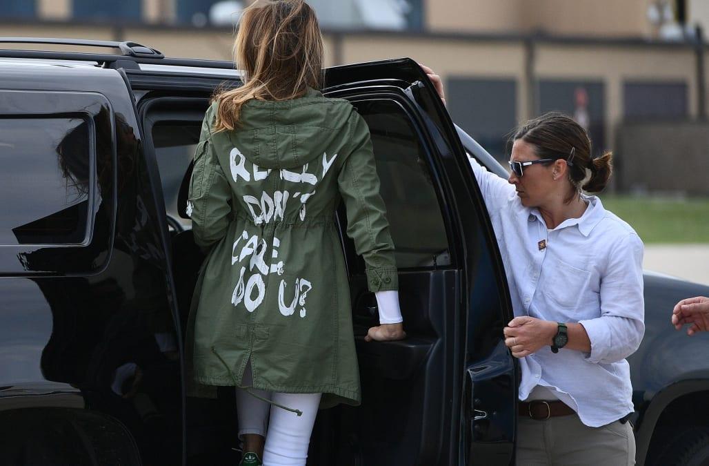 bf972ef23ba Melania Trump reveals controversial jacket was worn to send message to media