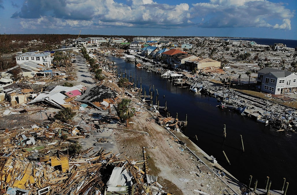 Mexico Beach Fla Ap With Stunned Faces And Tears Residents Of Hard Hit Returned Home For The First Time Wednesday About A Week After