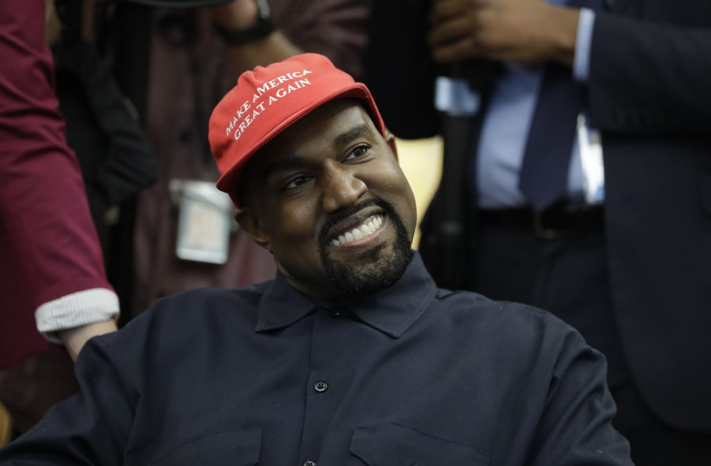 """daeb44c82bf7e Kanye West is officially throwing his support behind Candace Owens s """"Blexit""""  movement"""