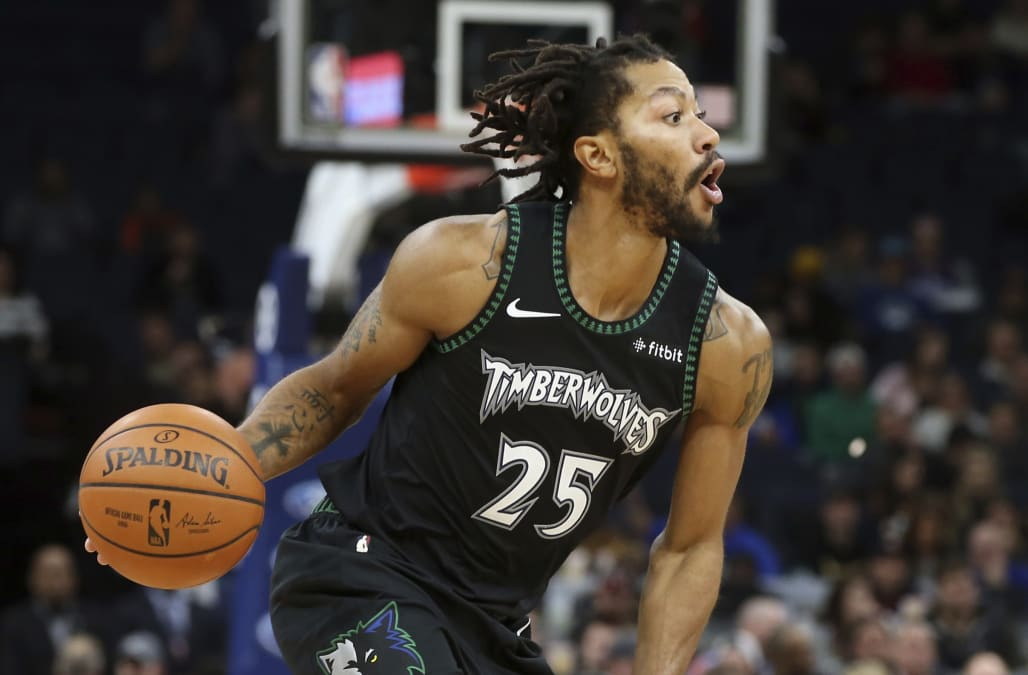 1879262d NBA players embrace Derrick Rose, light up Twitter on his 50-point night