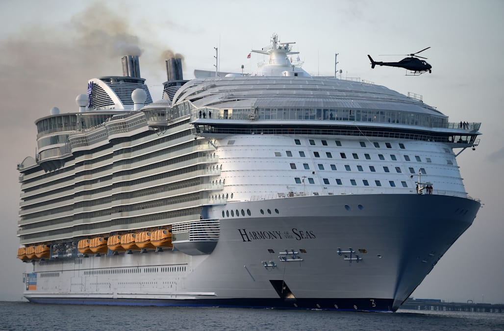 Coast Guard searches for cruise ship crew member who went overboard
