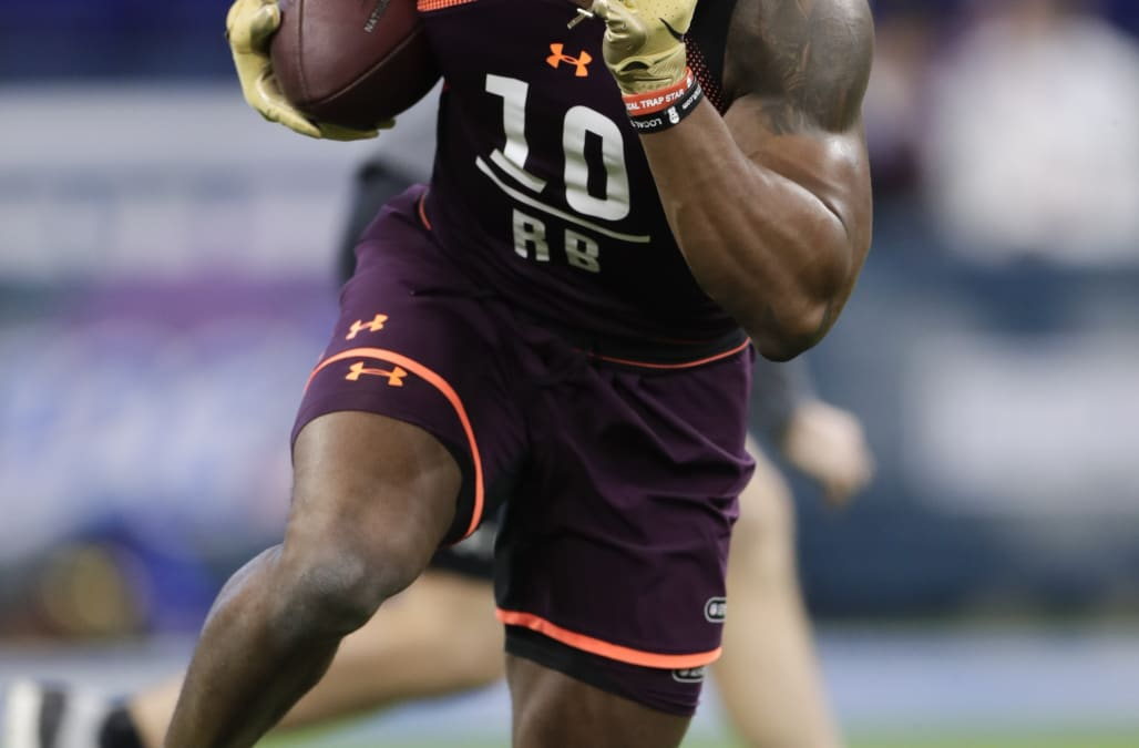 Elijah Holyfield disappoints with one of NFL combine s slowest 40 times for  RBs 84525b154