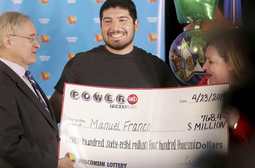 $768M Wisconsin Powerball winner 'pretty much felt lucky' 1