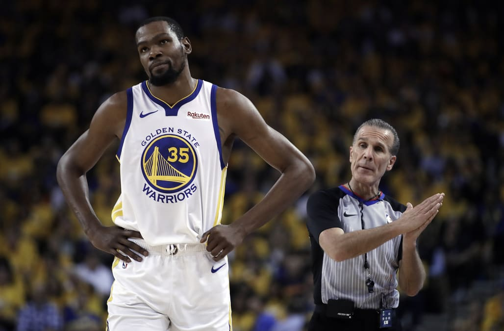 0574741c9f82 Kevin Durant ruled out of Game 3