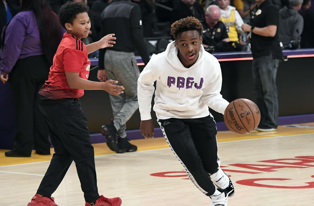 Pair Of Five Star Recruits Join Bronny James Jr To Form Super Team At Sierra Canyon Aol News