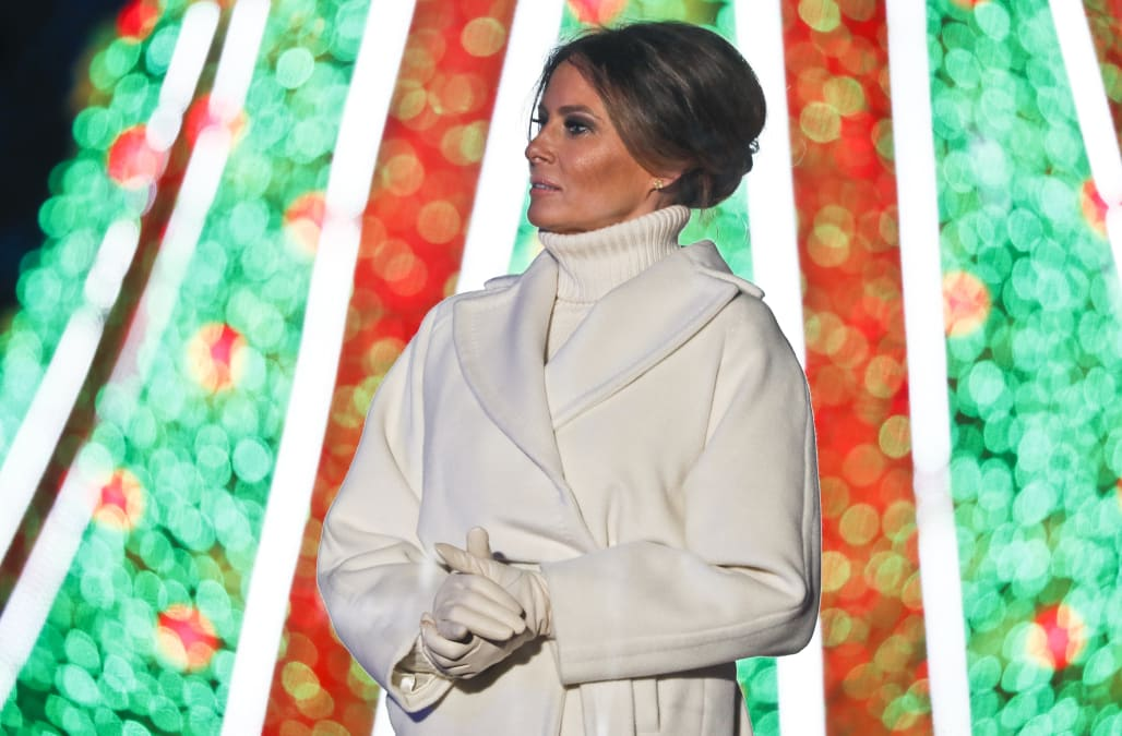 Christmas In July Ladies Outfits.Melania Trump Raises Eyebrows By Planning White House