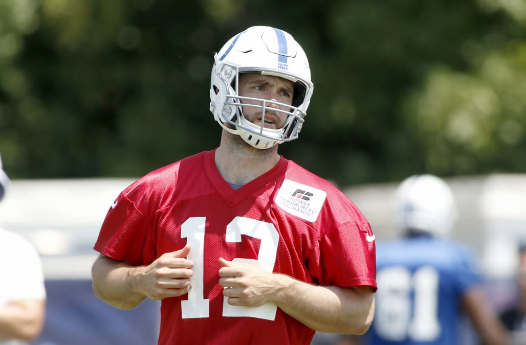 79de3cbc Colts shed some light on Andrew Luck: ankle is the issue, Week 1 not ...