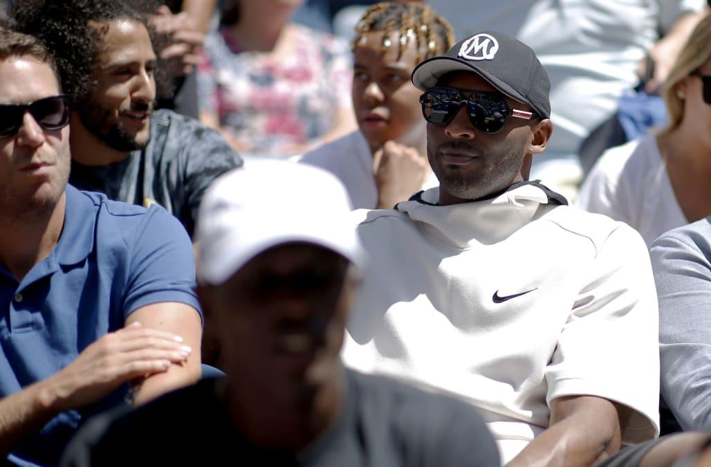 Colin Kaepernick And Kobe Bryant Watched Naomi Osaka At The