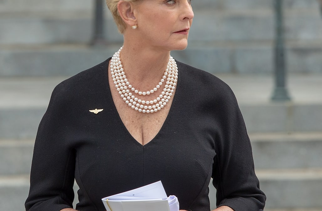 Cindy McCain marks 1 year without her 'rock' - AOL News
