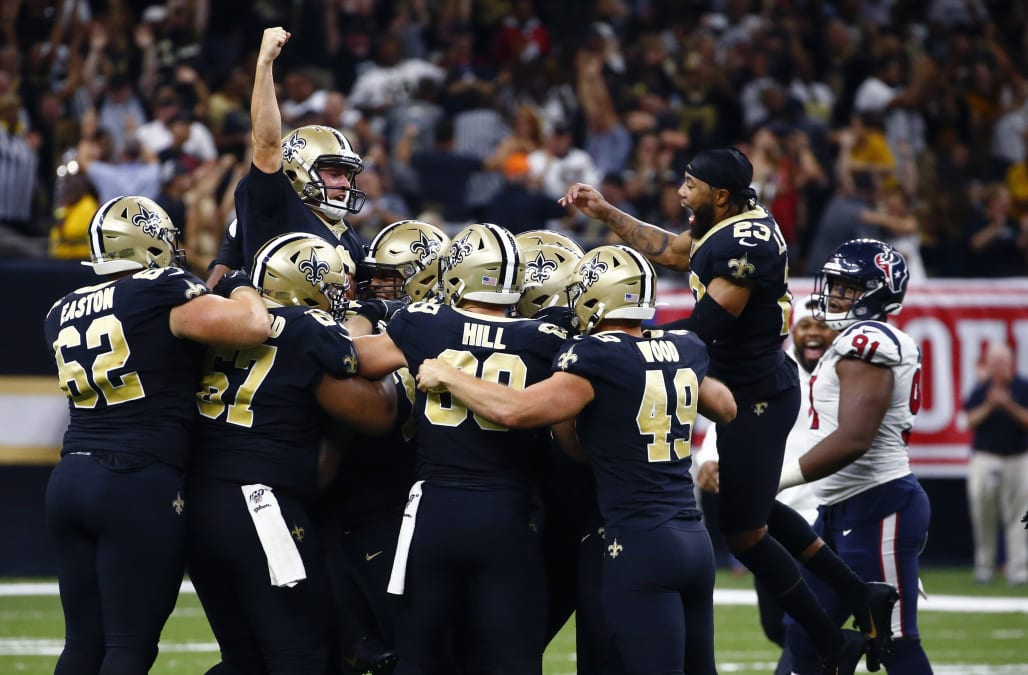 Drew Brees stages huge comeback in final minute of thrilling