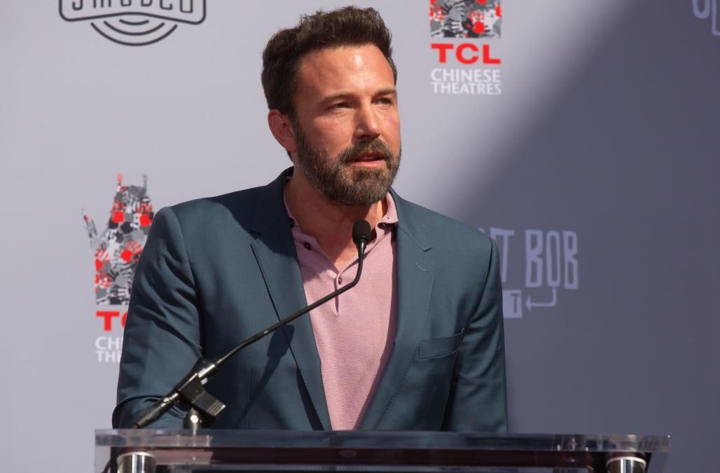 Ben Affleck gets choked up talking about Jennifer Garner: 'I didn't want to get divorced'