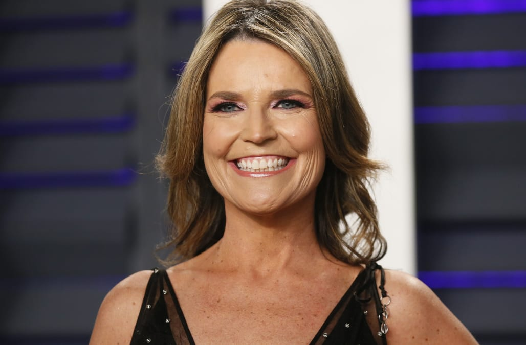 Savannah Guthrie Responds After Critic Calls Her Hair Unkempt And Distracting Aol Entertainment