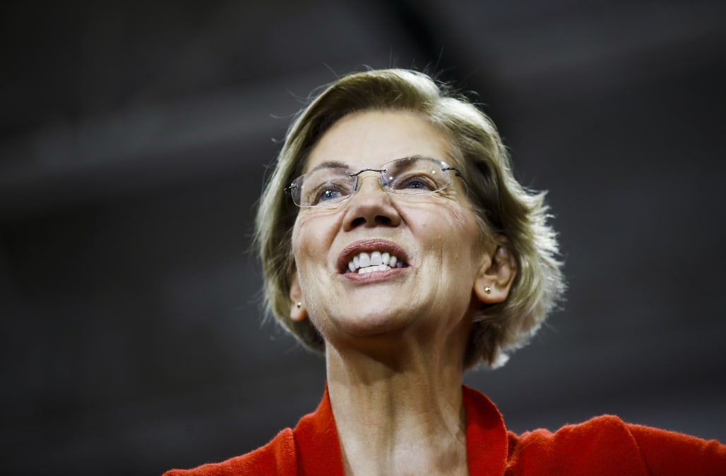 Elizabeth Warren enlists a high-profile congresswomen in final New Hampshire push