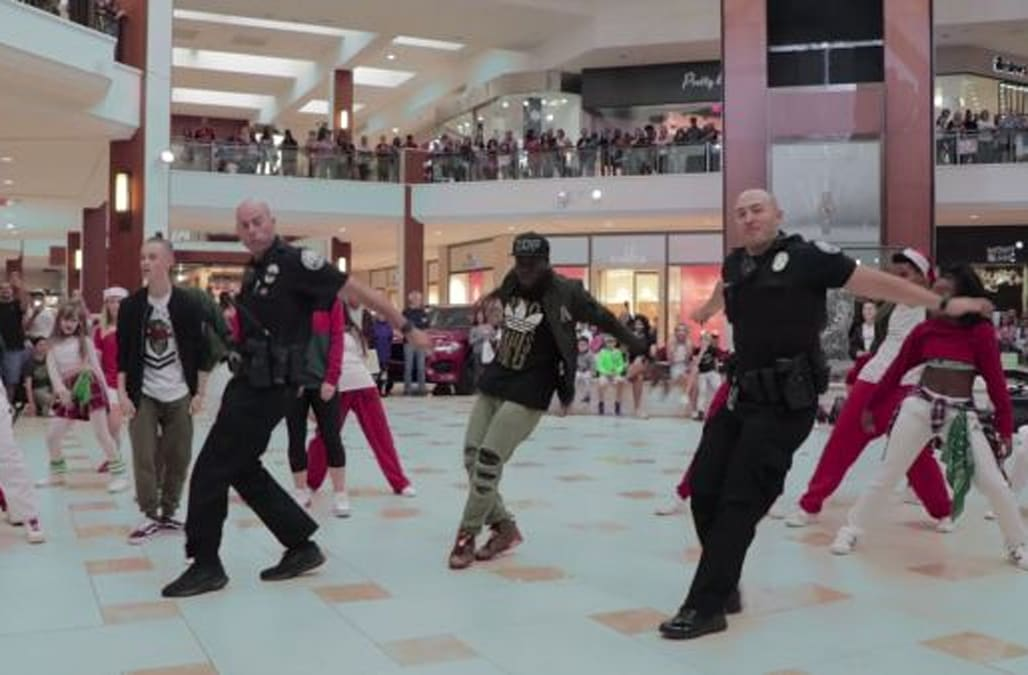 visitors at the aventura mall in miami were excited when a flash mob began in the middle of the shopping center the dancers from the acclaimed sean dance