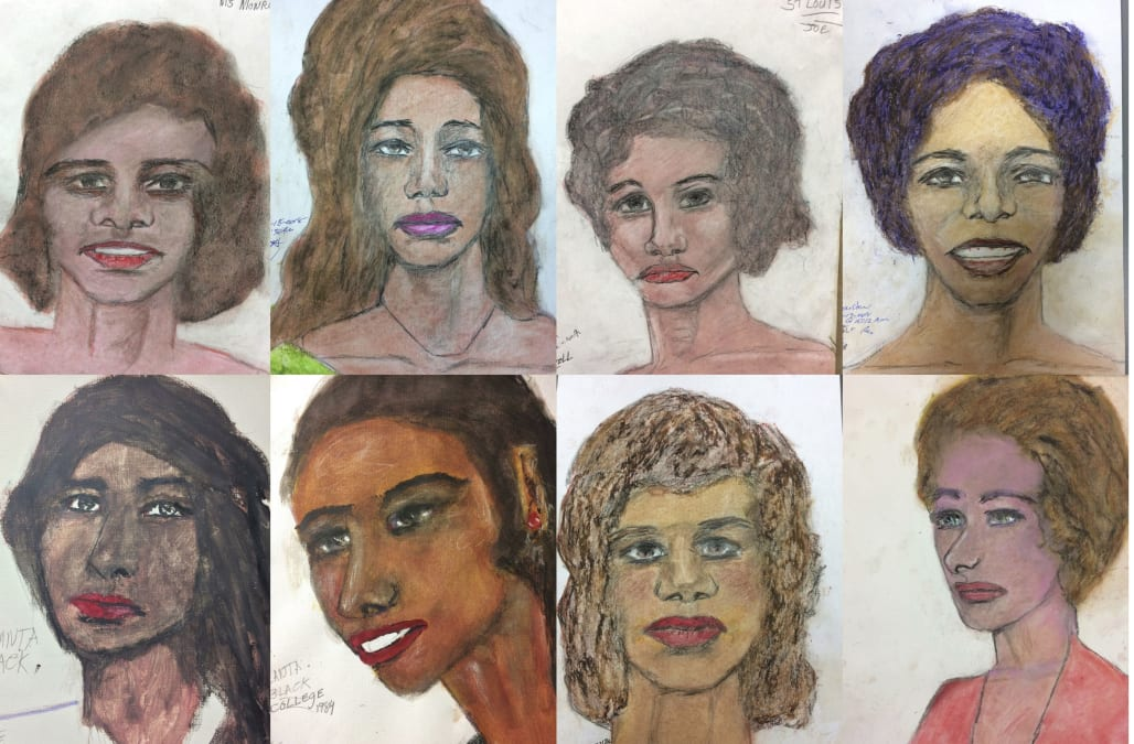 FBI posts victim sketches drawn by admitted serial killer