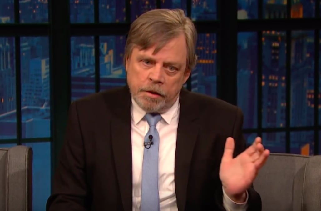Star Wars' icon Mark Hamill's dead-on Harrison Ford impression is a