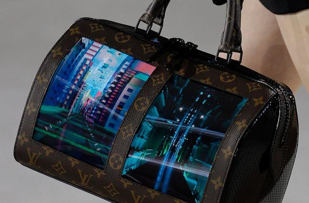 Louis Vuitton's latest prototype handbags feature internet browsers