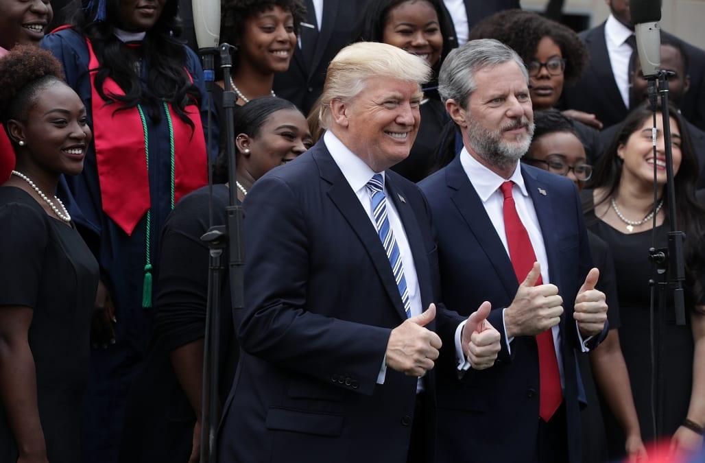 Exclusive: Trump fixer Cohen says he helped Falwell handle