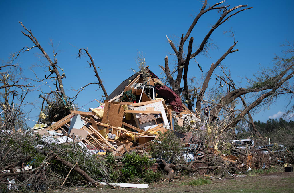 Death toll from tornado outbreak rises to at least 34 ...