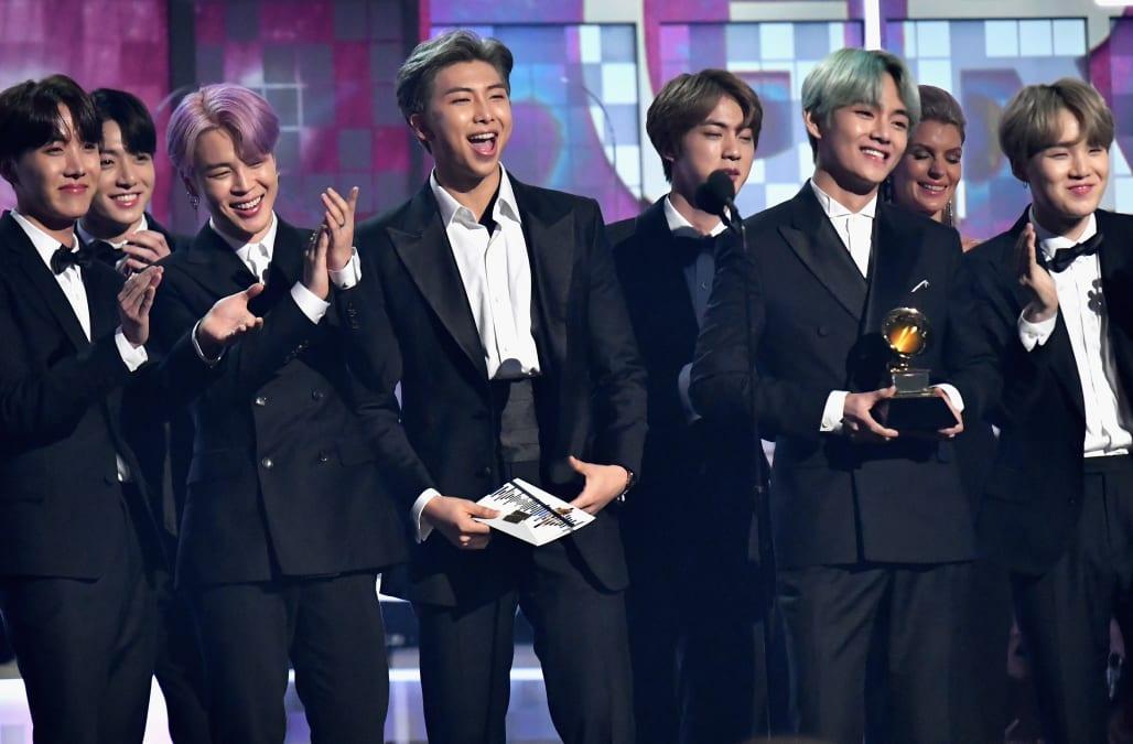 Grammy 2019 Bts: BTS Makes History At The Grammys As First K-pop Presenters