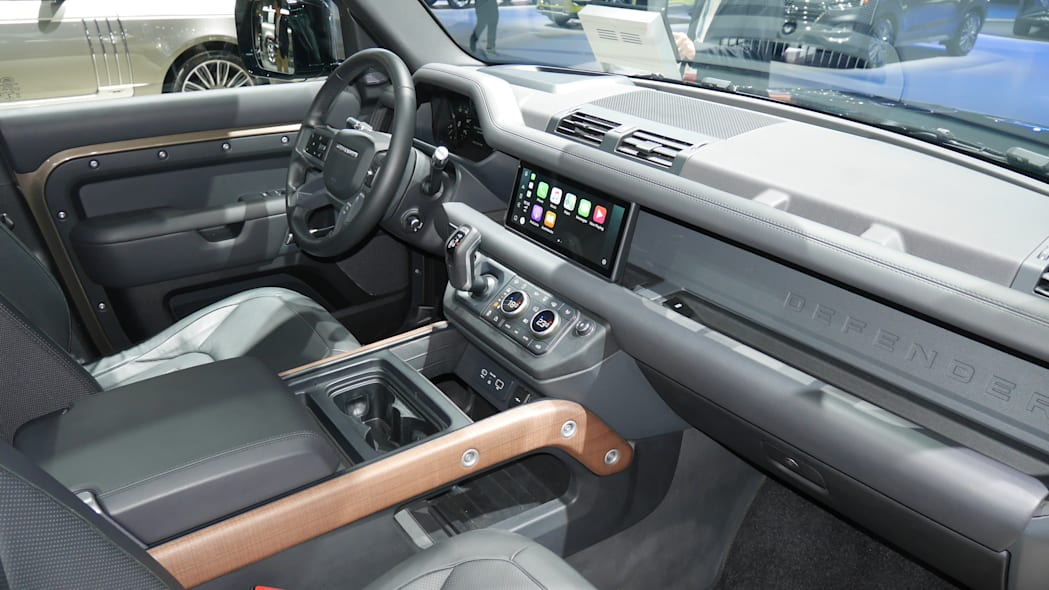 The 2020 Land Rover Defender interior is fantastic