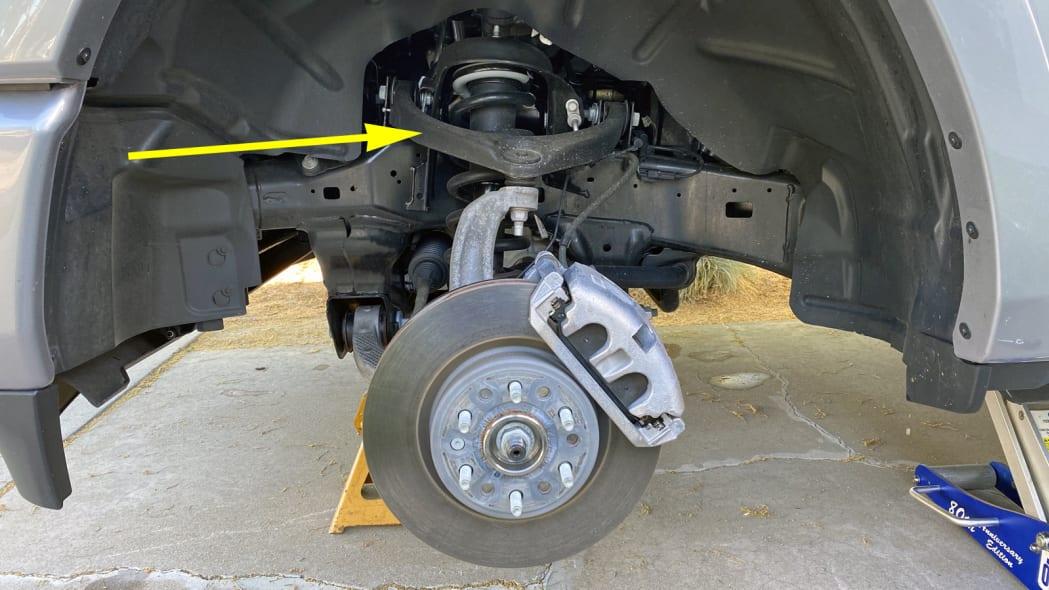 Front Rear Strut Spring Shock Kit Set of 4 for Ram 1500 4WD Pickup Truck