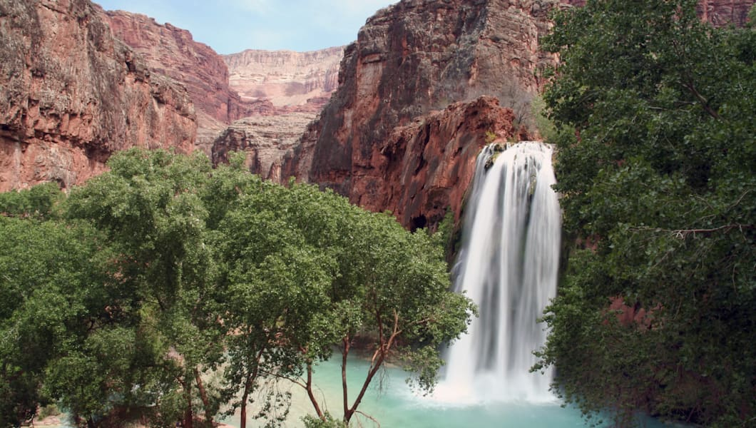 'Havasu Falls in the Grand Canyon, Arizona'