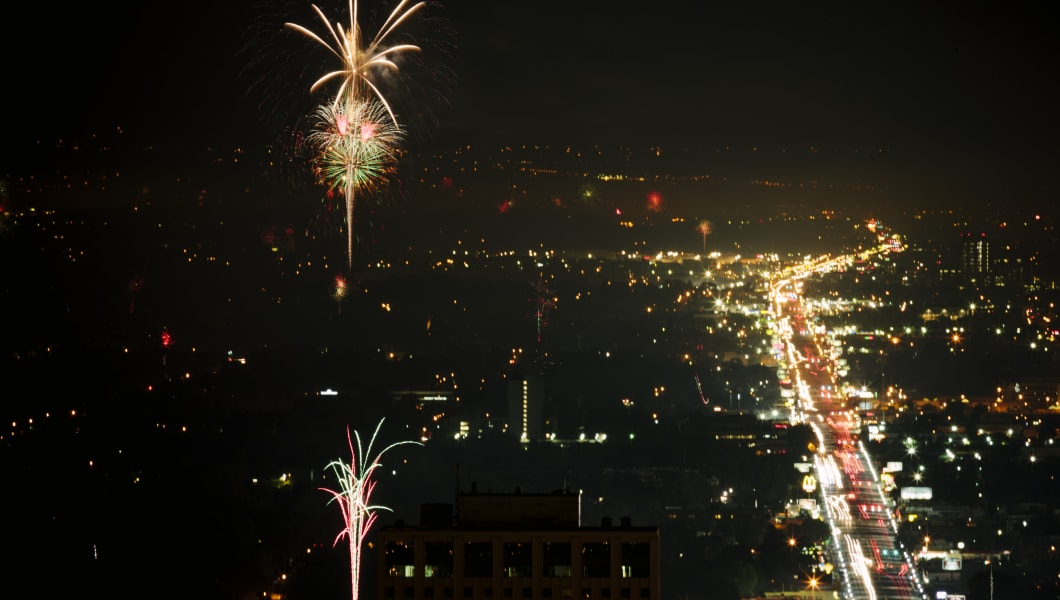 Where To Watch July Th Fireworks In Salt Lake City - Local time in salt lake city
