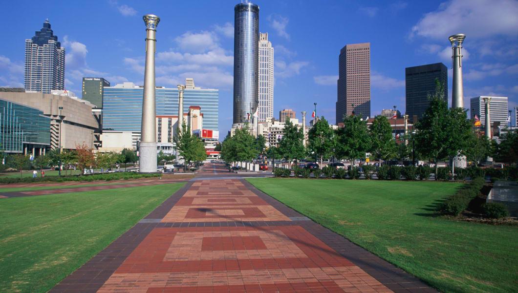 USA, Georgia, Atlanta, skyline