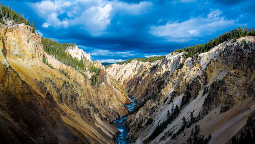 yellowstone canyon looking...