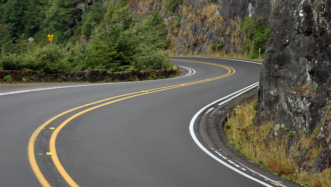 highway 101 in oregon usa by ...