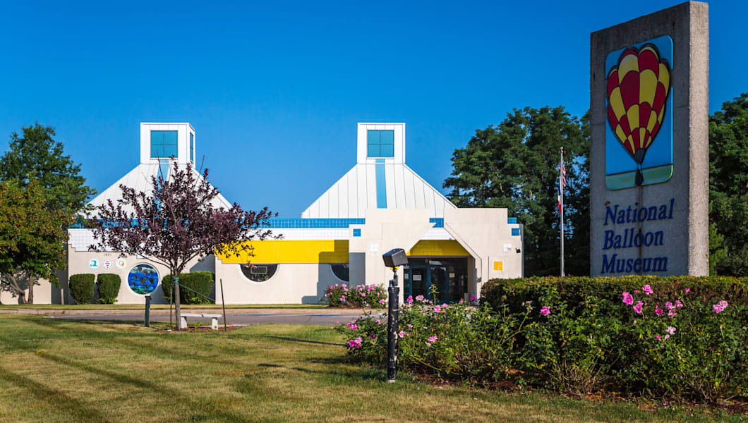 The National Balloon Museum In Indianola, Iowa, USA.