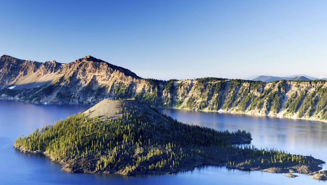 'Crater Lake National Park, Oregon'