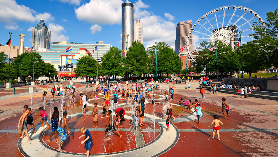 Image result for centennial park atlanta